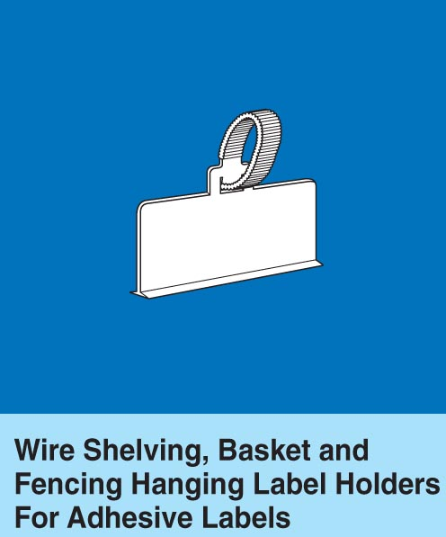 Labels For Wire Shelving | Hanging Label Holders For Adhesive Labels On Trion Industries Inc