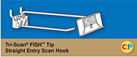 Tri-Scan Fish Tip Straight Entry Scan Hooks