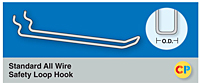 Standard All Wire Safety Loop Hooks