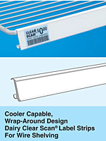 cooler shelving - wrap around