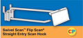 Swivel Scan Flip Scan Straight Entry Scan Hooks
