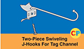 Two-Piece Swiveling J-Hooks