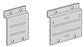 Slat Wall Back Plates (Raw Metal/Unplated)