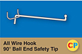 All Wire Hook 90º Ball End Safety Tip