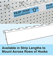 Flip Scan Label Strips for Adhesive Labels