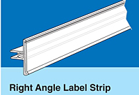Right Angle Label Strips for Paper Labels