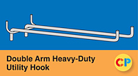 Double Arm Heavy-Duty Utility Hooks
