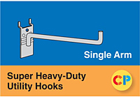 Single Arm Super Heavy-Duty Utility Hooks