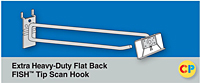 Extra Heavy-Duty Flat Back Fish Tip Scan Hooks