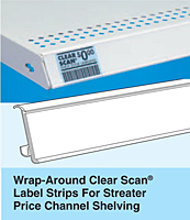 Wrap-Around Clear Scan Label Strips