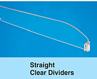 Straight Clear Dividers
