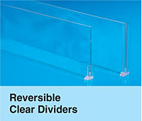 Reversible Clear Dividers