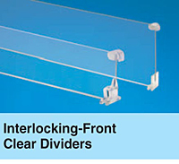 Interlocking-Front Clear Dividers