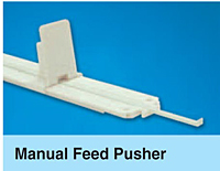 Manual Feed Pusher and Slides