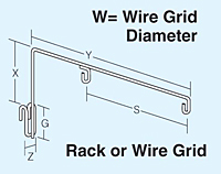 Rack-or-Wire-Grid