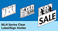 Molded Label/Sign Holders
