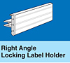 Right Angle Locking Label Holders