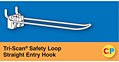Tri-Scan Safety Loop Straight Entry Hooks