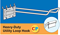 Heavy-Duty Utility Loop Hooks
