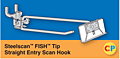 Steelscan FISH Tip Straight Entry Scan Hooks