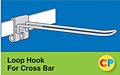Safety Loop Cross Bar Hooks
