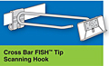 Cross Bar Fish Tip Scanning Hooks