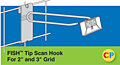 "Fish Tip Scan Hooks - Fits 2"" and 3"" Grid"