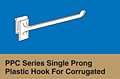 PPC Series Single Prong Plastic Hook