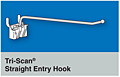 Tri-Scan Straight Entry Hooks