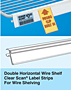 Double Horizontal Wire Clear Scan with Promo Clip