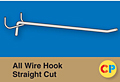 All Wire Hook Straight Cut